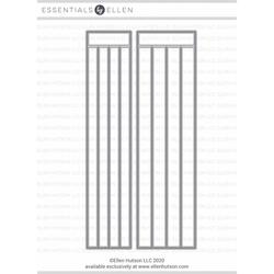Color Me Strips: Large by Julie Ebersole, Essentials by Ellen Designer Dies -