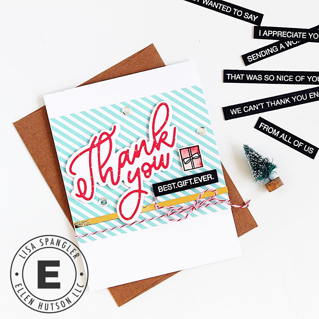 Nice of You by Julie Ebersole, Essentials by Ellen Designer Dies -