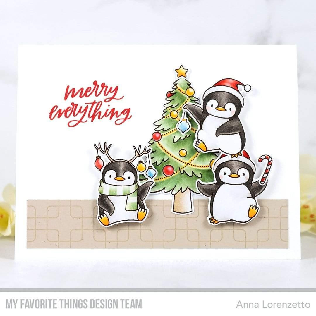 Mini Merry Messages, My Favorite Things Clear Stamps - 849923037157