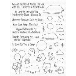 Partners in Adventure, My Favorite Things Clear Stamps - 849923037126