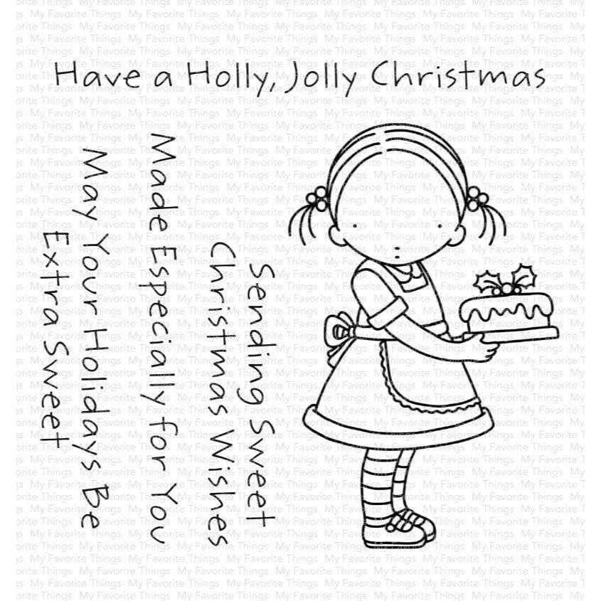 Pure Innocence - Sweet Christmas Wishes, My Favorite Things Clear Stamps - 849923037171