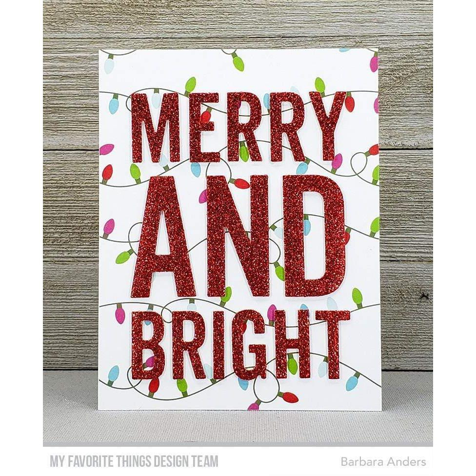 Very Merry and Bright, My Favorite Things Die-Namics - 849923037331