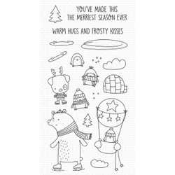 Warm Hugs and Frosty Kisses, My Favorite Things Clear Stamps - 849923037133
