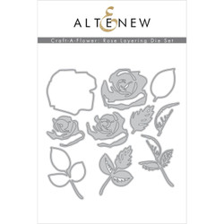 Craft-A-Flower: Rose, Altenew Dies - 737787270165