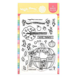 Pumpkin House, Waffle Flower Clear Stamps - 780348639703
