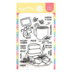 Holiday Cheese, Waffle Flower Clear Stamps - 780348639710