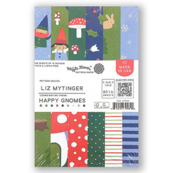 Happy Gnomes, Waffle Flower Paper Pad - 644216794690