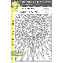 String Art Nativity Star, Birch Press Design Dies - 873980573808