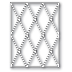 Knotted Diamond Background, Memory Box Dies - 873980944882