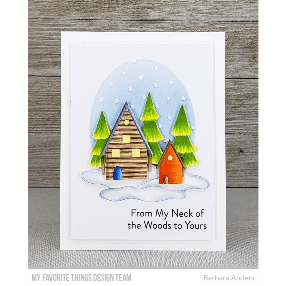 Tiny Houses, My Favorite Things Die-Namics - 849923037386