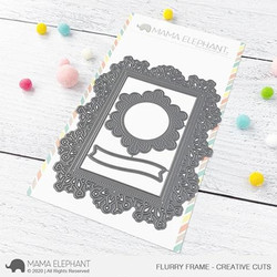 Flurry Frame, Mama Elephant Creative Cuts -