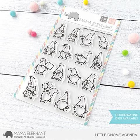 Little Gnome Agenda, Mama Elephant Clear Stamps -