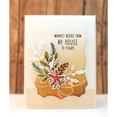 {Heart} Christmas Cut Out, Penny Black Dies - 759668516902