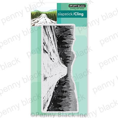 Woodland Getaway, Penny Black Cling Stamps - 759668407620
