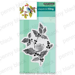 Season's Tweeting, Penny Black Cling Stamps - 759668407613