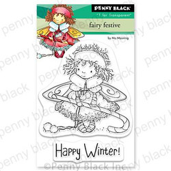 Fairy Festive, Penny Black Clear Stamps - 759668307746