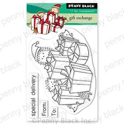 Gift Exchange, Penny Black Clear Stamps - 759668307579