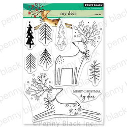 My Deer, Penny Black Clear Stamps - 759668307562