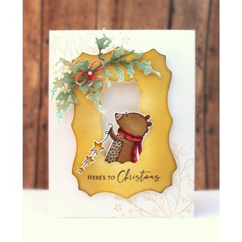 Here's To Xmas, Penny Black Clear Stamps - 759668307418