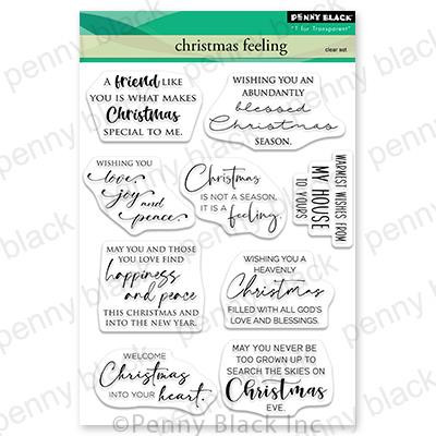 Christmas Feeling, Penny Black Clear Stamps - 759668307371