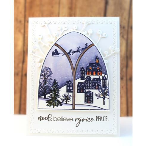 Frozen Vista, Penny Black Clear Stamps - 759668307364