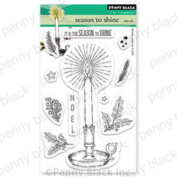 Season to Shine, Penny Black Clear Stamps - 759668307357