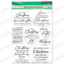 Christmas Moments, Penny Black Clear Stamps - 759668307319