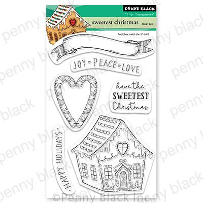 Sweet Christmas, Penny Black Clear Stamps - 759668307302