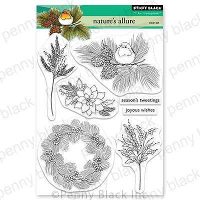 Nature's Allure, Penny Black Clear Stamps - 759668307296