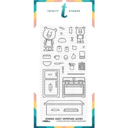 Cottage Kitchen, Trinity Stamps Clear Stamps -