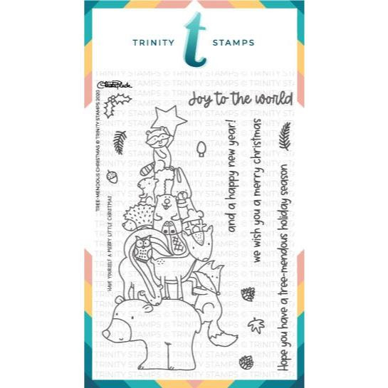 Tree-mendous Christmas, Trinity Stamps Clear Stamps -
