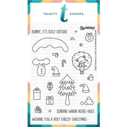 Winter Burrow, Trinity Stamps Clear Stamps -
