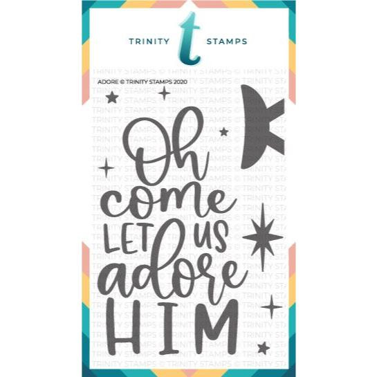 Adore, Trinity Stamps Clear Stamps -