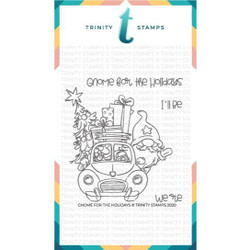 Gnome for the Holidays, Trinity Stamps Clear Stamps -