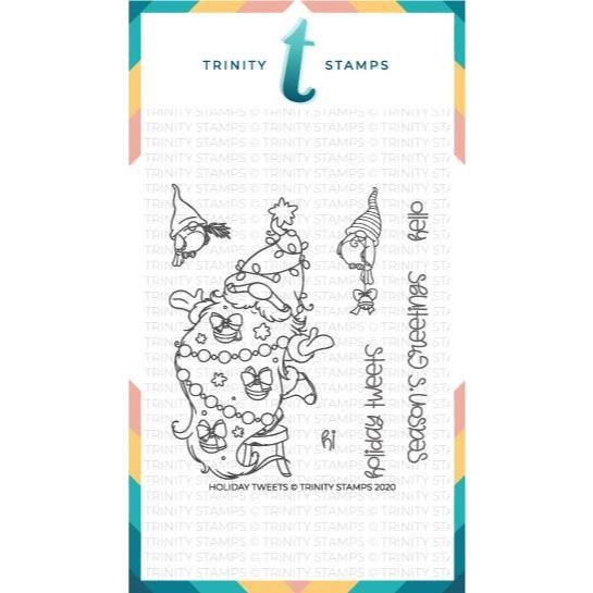 Holiday Tweets, Trinity Stamps Clear Stamps -