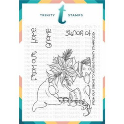 From Our Gnome to Yours, Trinity Stamps Clear Stamps -