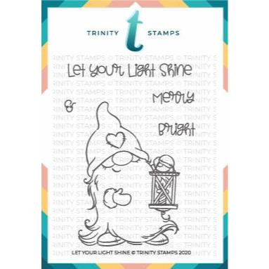 Let Your Light Shine, Trinity Stamps Clear Stamps -