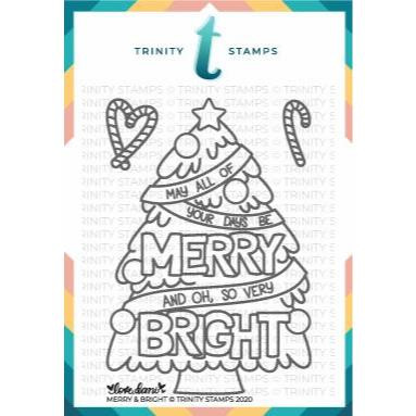 Merry & Bright, Trinity Stamps Clear Stamps -