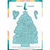Merry & Bright, Trinity Stamps Dies -