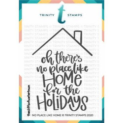 No Place Like Home, Trinity Stamps Clear Stamps -