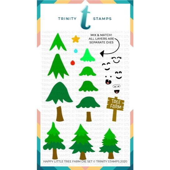 Happy Little Tree Farm, Trinity Stamps Dies -