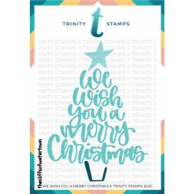 We Wish You a Merry Christmas, Trinity Stamps Dies -