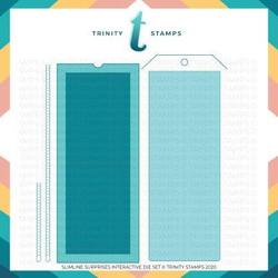 Slimline Surprises, Trinity Stamps Dies -