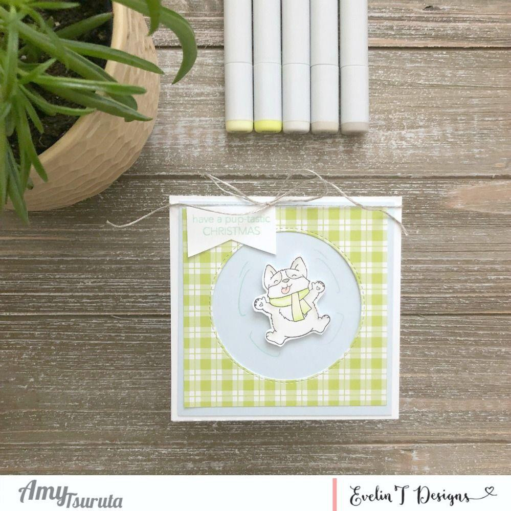 Pup-Tastic Christmas, Evelin T Designs Clear Stamps - 725330030083