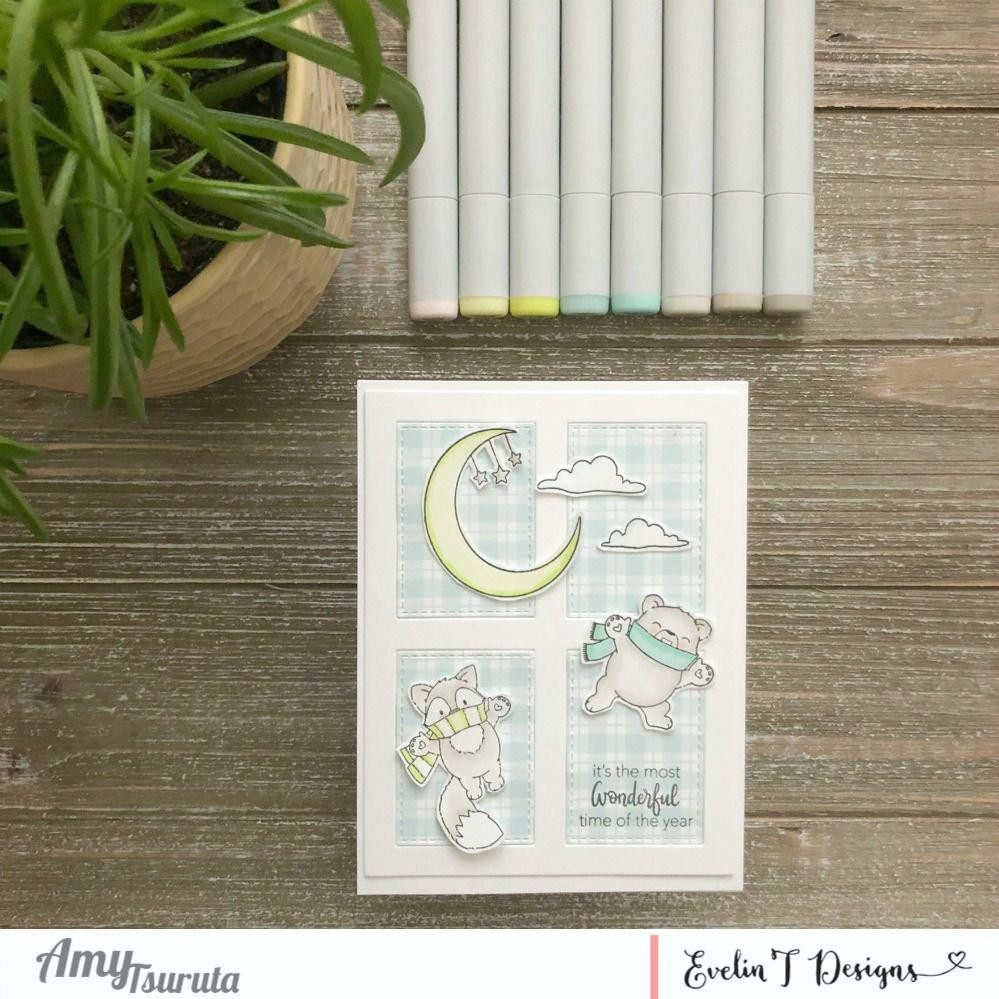 Winter Magic, Evelin T Designs Clear Stamps - 725330030090