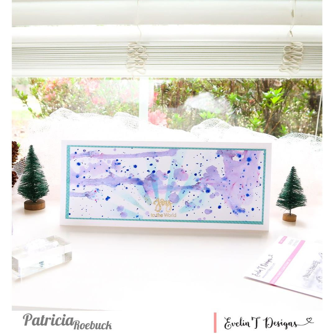 Season's Greetings, Evelin T Designs Clear Stamps - 725330030106