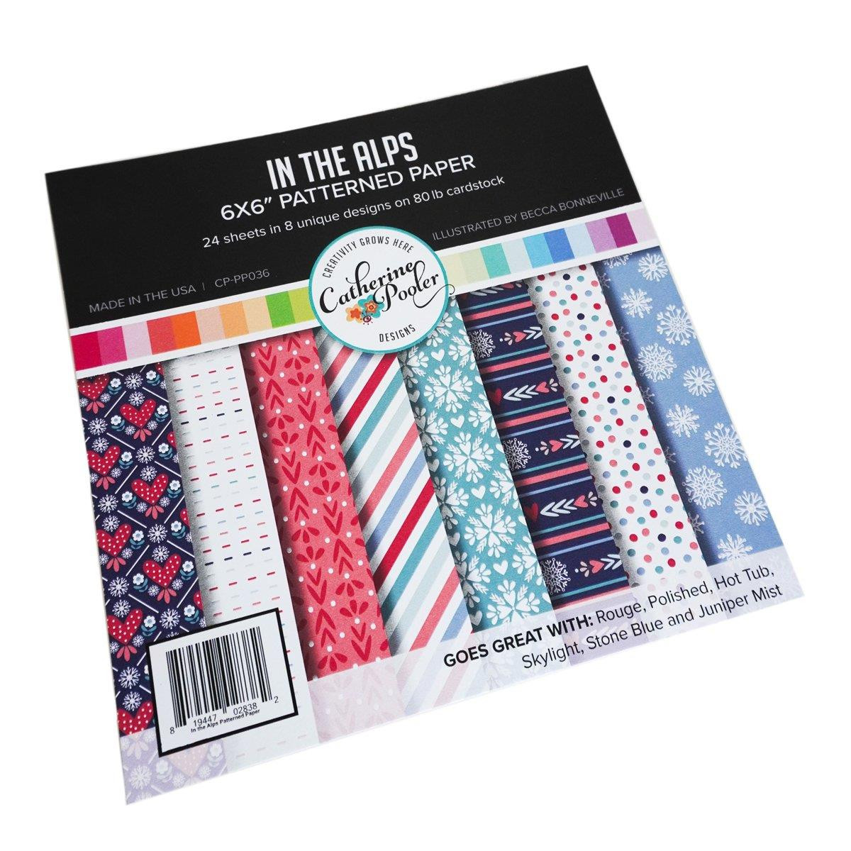 In the Alps, Catherine Pooler Patterned Paper - 819447028382