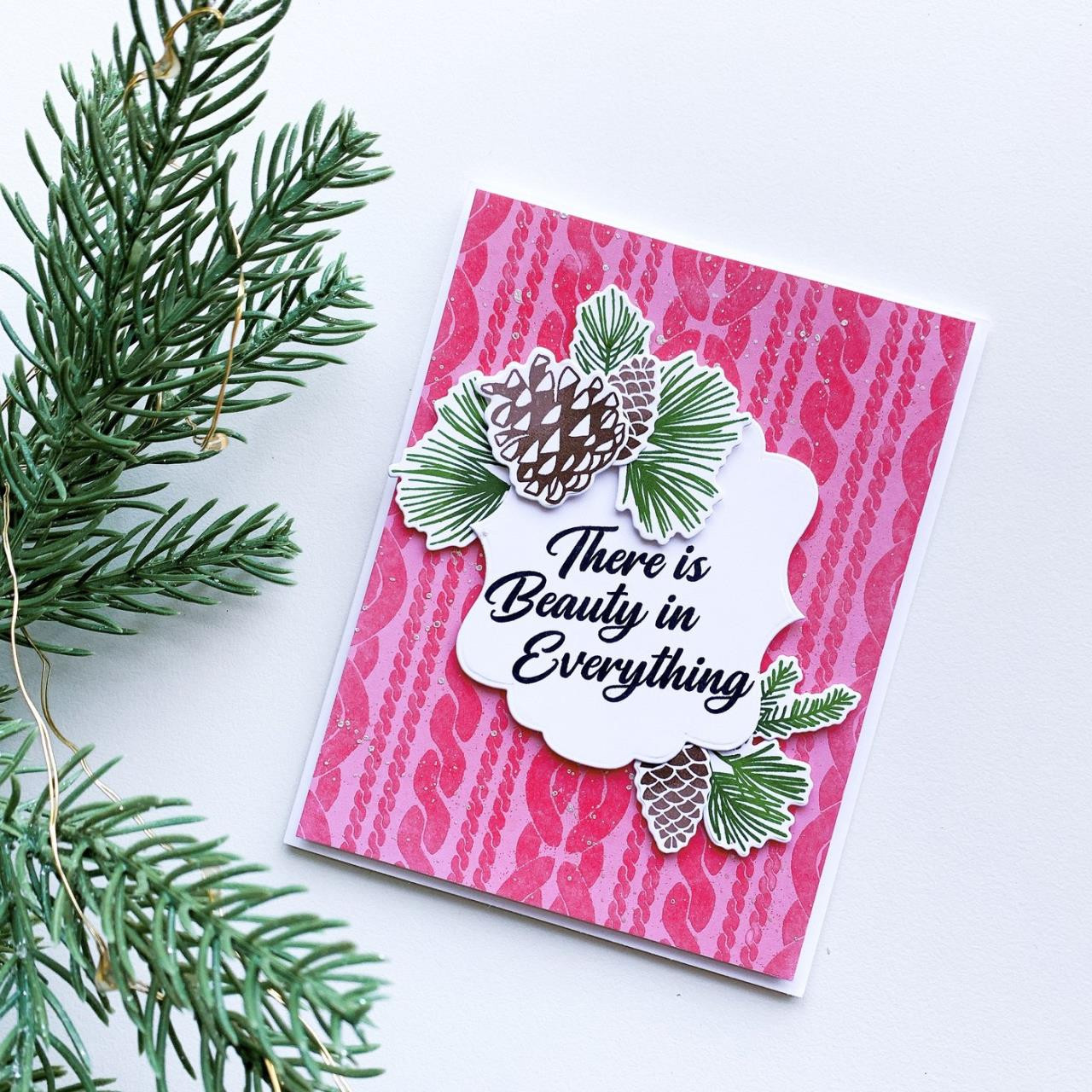 Sweater Weather Background, Catherine Pooler Cling Stamps - 819447028948