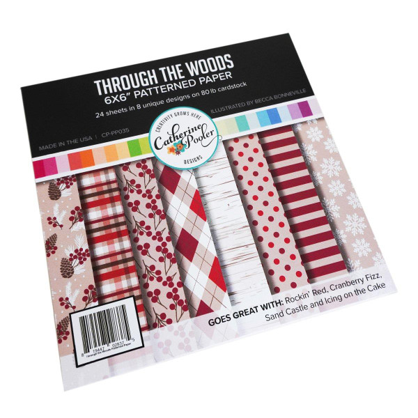 Through the Woods, Catherine Pooler Patterned Paper - 819447028375