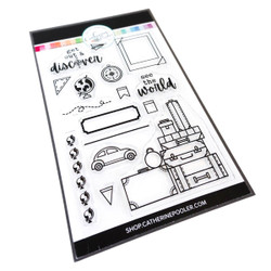 Discover the World, Catherine Pooler Clear Stamps -   819447028856
